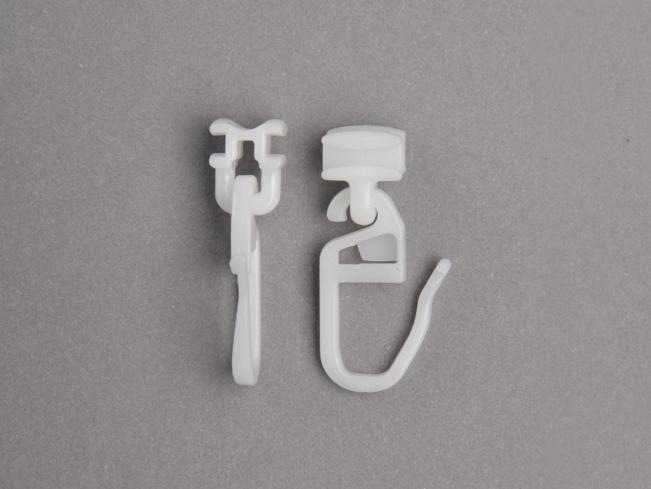 gelenk gleiter zur befestigung von gardinen. Black Bedroom Furniture Sets. Home Design Ideas