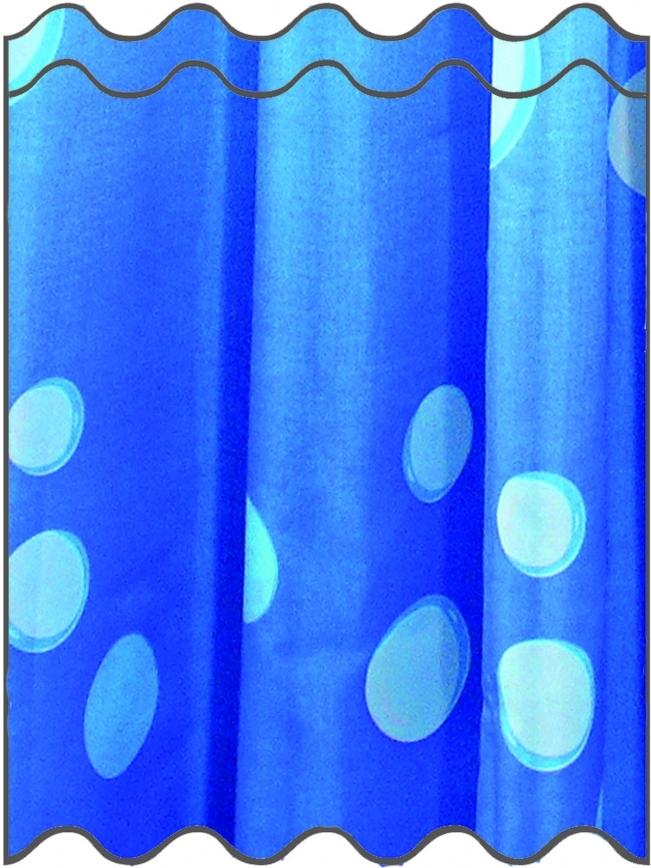Cooler duschvorhang blau for Coole duschvorha nge
