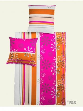 mako satin ornamete pink orange. Black Bedroom Furniture Sets. Home Design Ideas