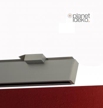 Extrem Gardinenstangen für die Deckenmontage V2A Optik 1 Läufig - www JJ75