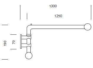 Schwenkstange für Gardinen kürzbar   .pladeko.de